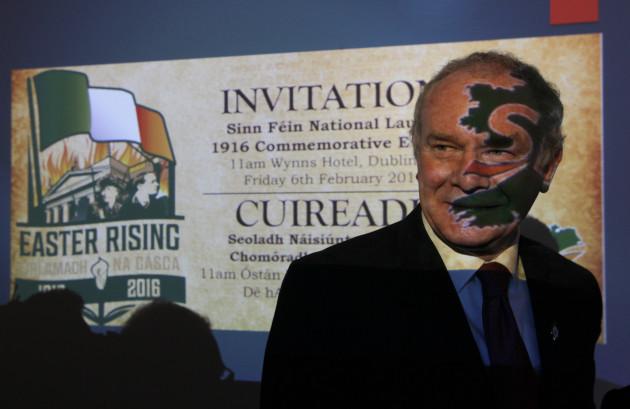 6/2/2015 Sinn Fein launched their National Program