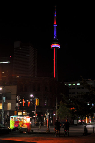 Hot Dogs, Bikes, and The CN Tower