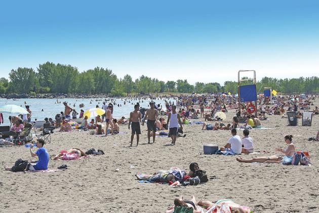 Sun Bathers -Woodbine Beach-Toronto