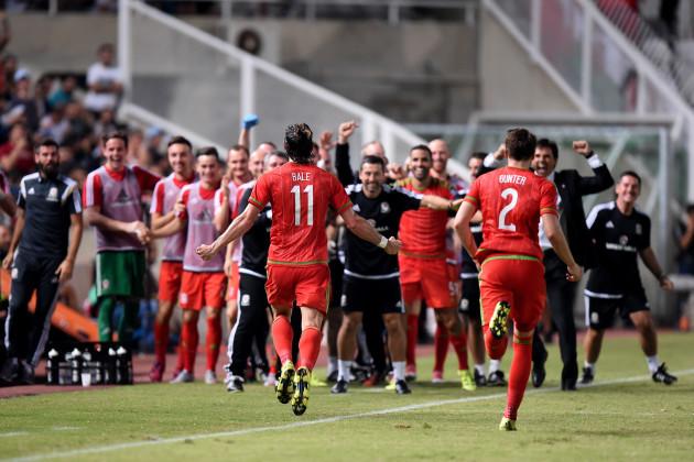 Soccer - UEFA Euro 2016 - Qualifying - Group B - Cyprus v Wales - GSP Stadium