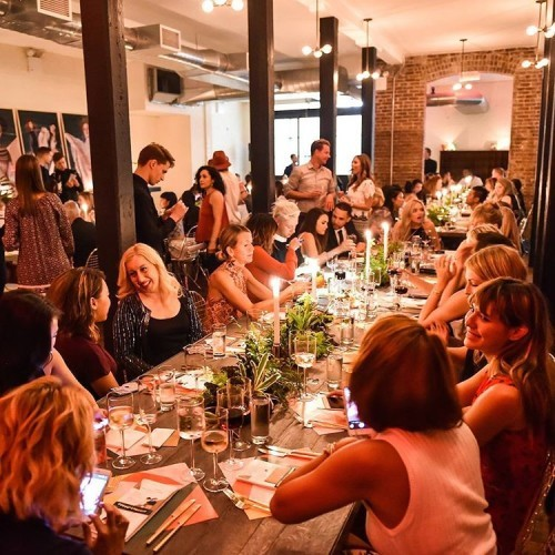 Take us back to the @Refinery29 dinner last night! ❤ #TBT #PrimarkUSA