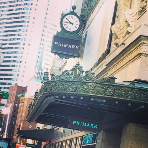I'm a little early but it's happening... Penny's hits Boston! #primark @primark #Boston