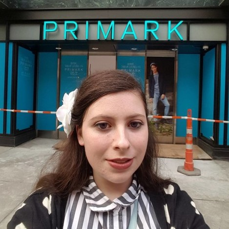 I'm so excited to join the Primark family! #primarkdtx #primarkusa #selfie