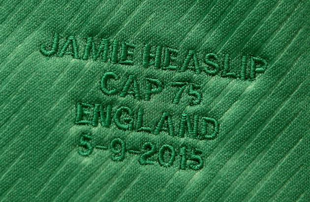 Jamie Heaslip's jersey