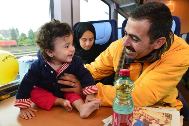 Austria Germany Migrants