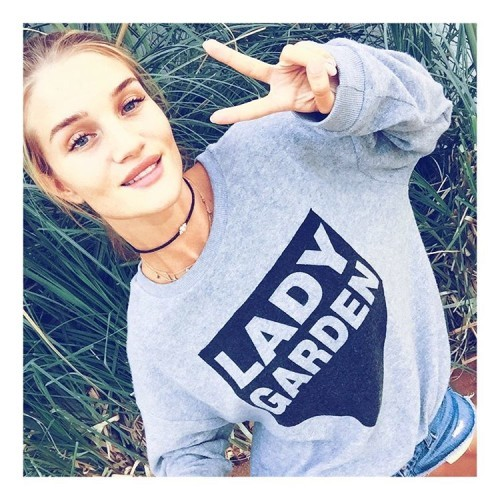 I am proudly supporting the #LadyGardenCampaign and you can too by getting your hands on one of these limited edition jumpers @topshop proceeds go to @gynaecancerfund you can also text 'LADY GARDEN' to 70755 and donate £5 #SilentNoMore #WhatDoYouCallYours