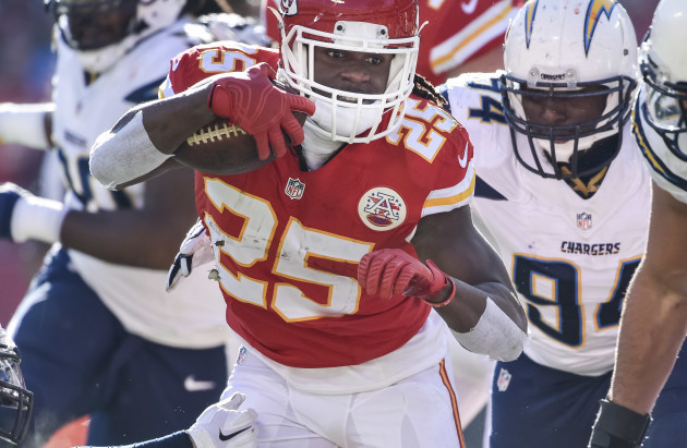 Chargers-Chiefs Football
