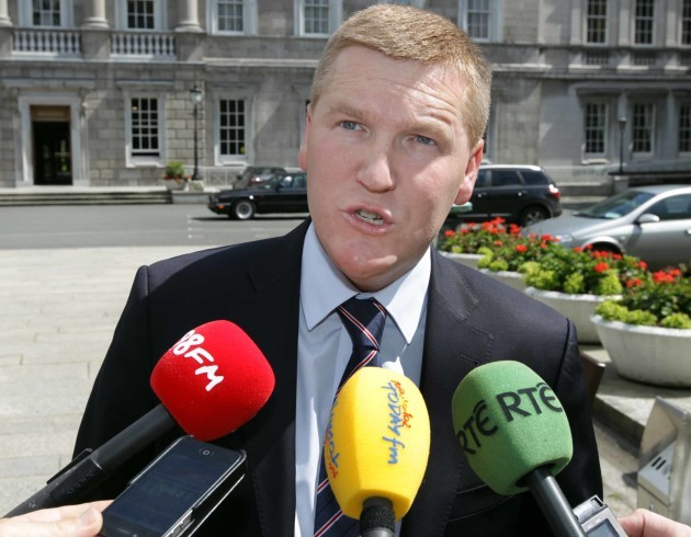 File Photo: Michael McGrath, FF spokesman on Finance has said it would be arrogant of his party not to consider going into government as a junior party.