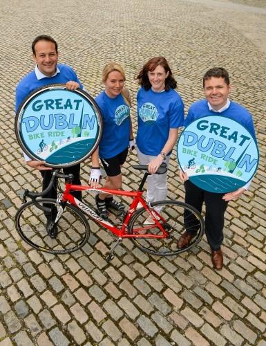 Irish Sports Council and Cycling Ireland launch The Great Dublin Bike Ride