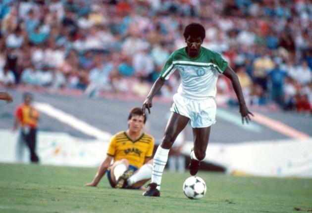 Soccer - Los Angeles Olympic Games - Group C  - Saudi Arabia v Brazil