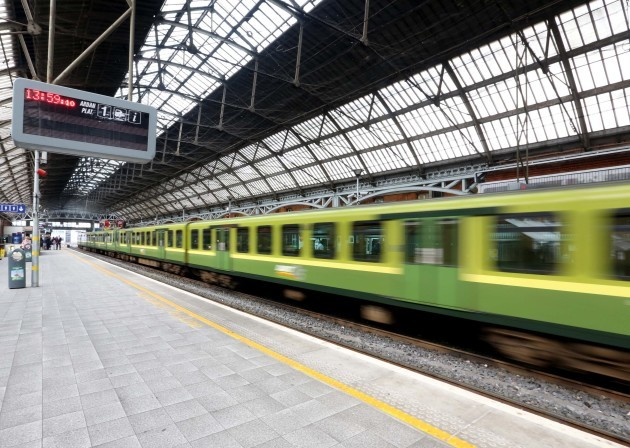 File Photo IRISH RAIL HAS seen an increase of more than half a million customers in the first half of this year and it cites economic stabilisation among a number of factors behind the growth. The company recorded some 19 million journeys on Iarnrod Eirea