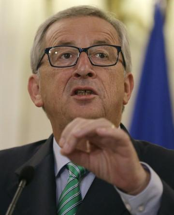 Greece EU Juncker