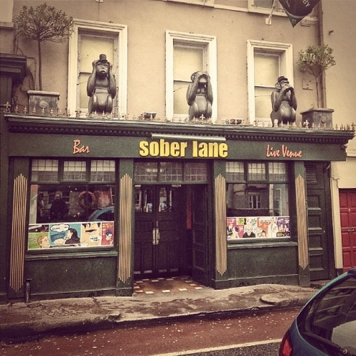 Hear no evil... #cork #soberlane #pub #monkey