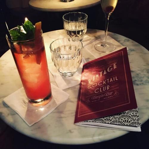 Celebrating @ameliajknight, prohibition style.