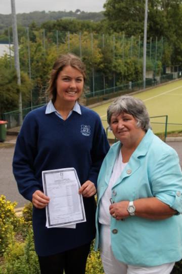 Anne O'Farrell , 12 A Grades in JC Examination.