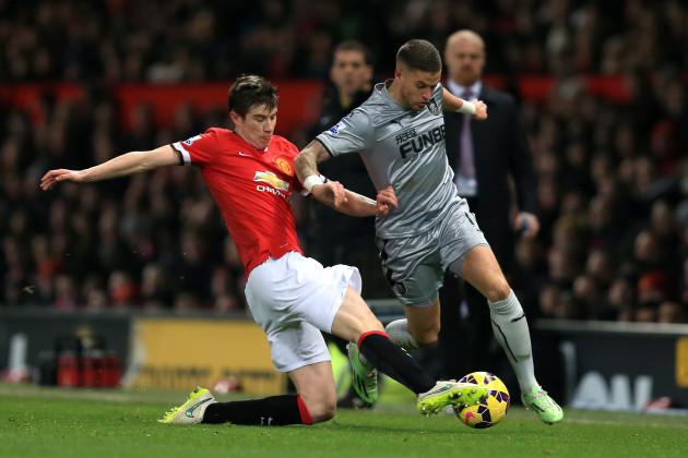 Soccer - Barclays Premier League - Manchester United v Burnley - Old Trafford