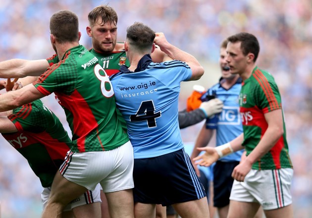 Philly McMahon clashes with Aidan OÕShea