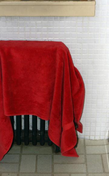 warm the towels