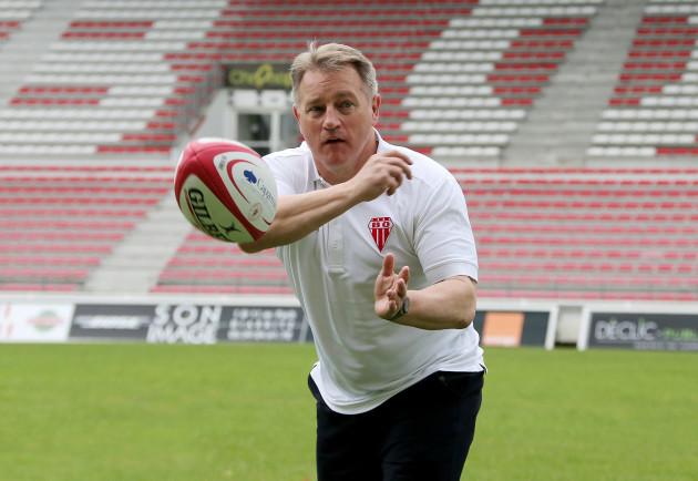 New Biarritz head coach Eddie O'Sullivan
