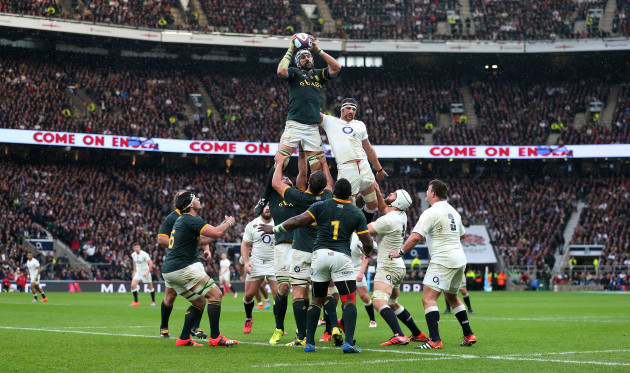 Rugby Union - QBE International 2014 - England v South Africa - Twickenham