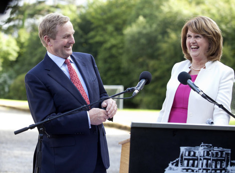 22/7/2015. Cabinet Meetings At Lissadell