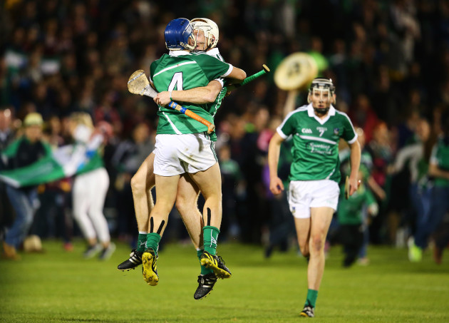 Michael Casey and Cian Lynch celebrate