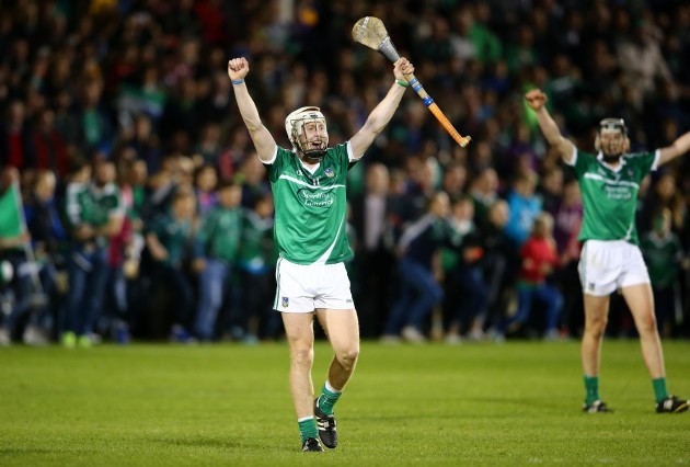 Cian Lynch celebrates after the final whistle