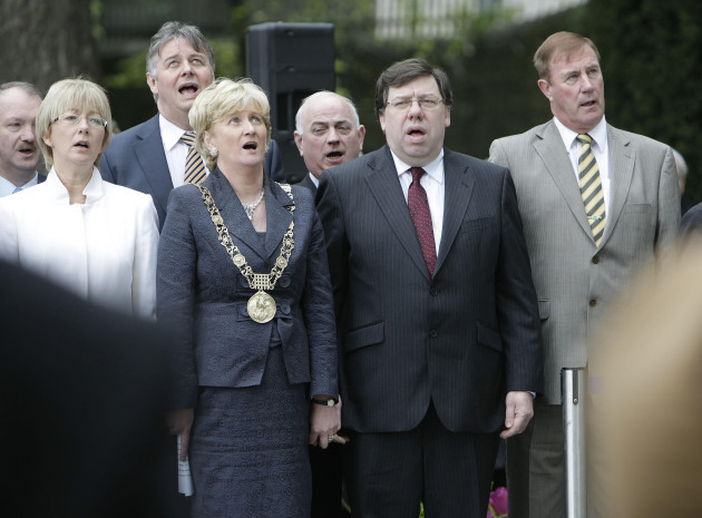 Fianna Fail's annual Arbour Hill Easter Rising Commemoration