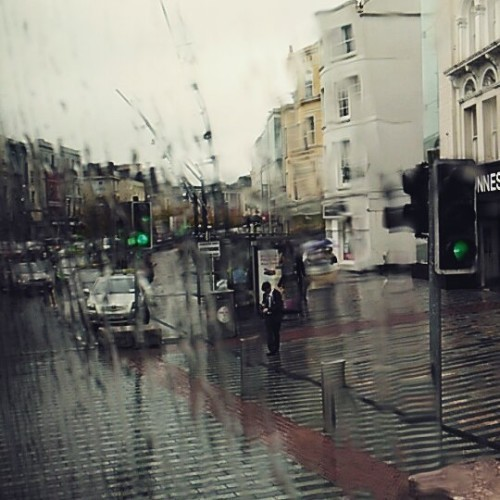 Finally getting some irish rain #corkcity #irishrain #buseireann #onthewaytokillarney