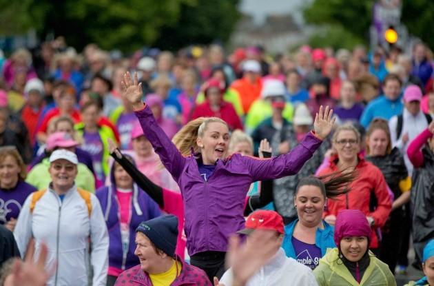 A general view of the VHI Women's Mini Marathon
