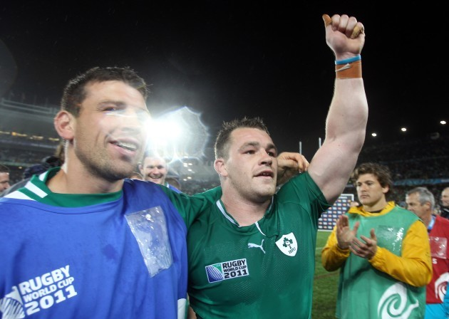 Cian Healy after the game