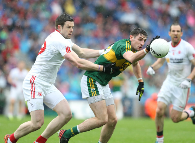Paul Geaney and Conor Clarke