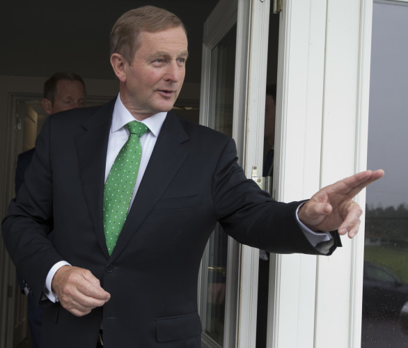 11/9/2015. FG Think-in 2015. Taoiseach and leader