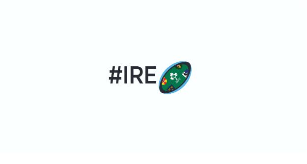 rwc ireland emoji