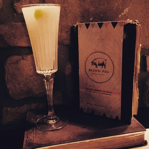 One of the better #French75's I've had in my life, thank you @blindpigdublin! What an experience to find this little gem!