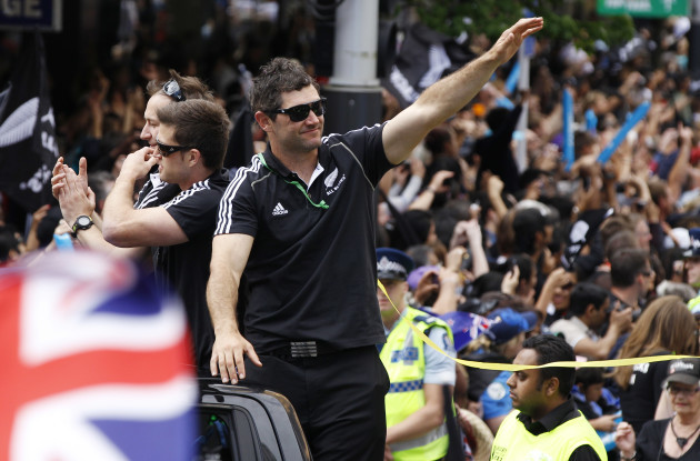 New Zealand WCUP Rugby World Cup Parade