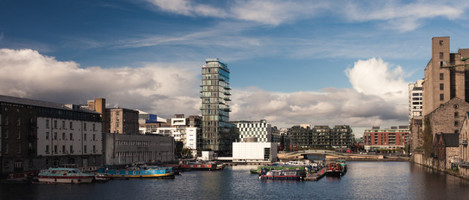 The Docklands of Dublin
