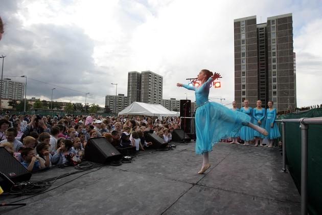 Ballet Mun dance troupe perform