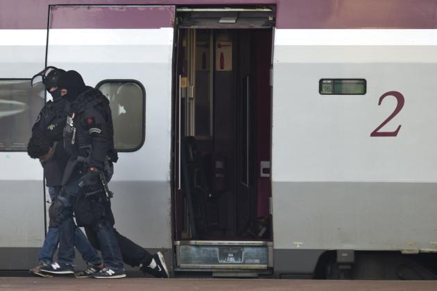 Netherlands Train Evacuated
