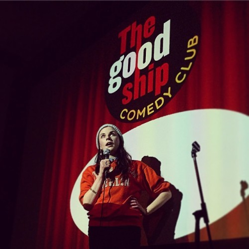 Last night I drank Guinness and laughed at people. @weemissbea #aislingbea #thegoodship #kilburn #comedy #london