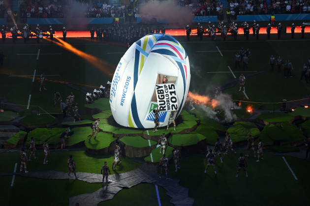 Rugby Union - Rugby World Cup 2015 - Pool A - Fiji v England - Twickenham Stadium
