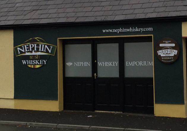 Nephin Whiskey Emporium Outside