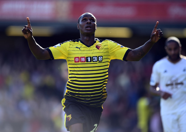 Soccer - Barclays Premier League - Watford v Swansea City - Vicarage Road