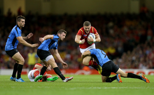 Rugby Union - Rugby World Cup 2015 - Pool A - Wales v Uruguay - Millennium Stadium