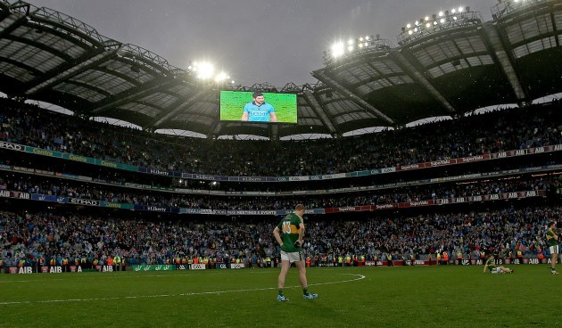 Colm Cooper dejected