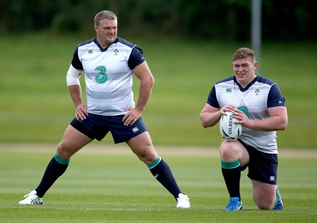 Nathan White and Tadgh Furlong