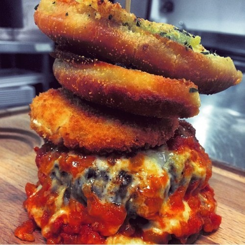 This bad boy is available from today for Lunch, Brunch and Dinner!! #TheItalianJob