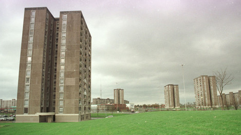 BALLYMUN TOWERS COMPLEX AREA HOUSING ESTATES