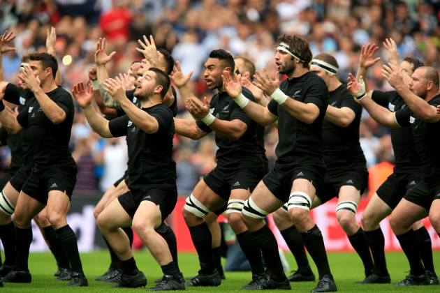 Rugby Union - Rugby World Cup 2015 - Pool A - New Zealand v Argentina - Wembley Stadium