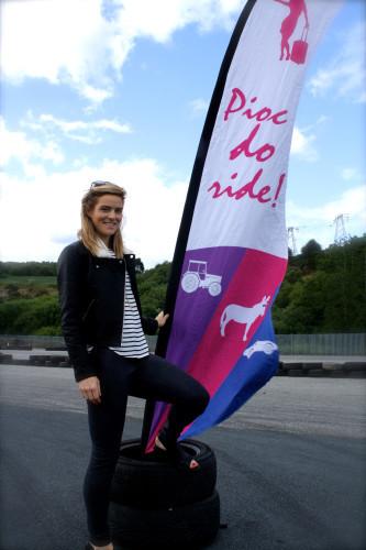 Pioc do Ride presenter Aine Goggins